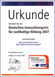 Urkunde Deutscher Innovationspreis 2007.jpg
